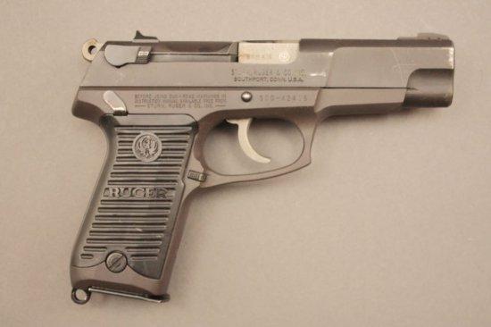 RUGER P85, 9mm SEMI-AUTO PISTOL