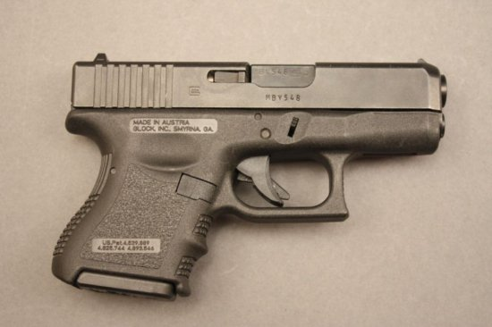 GLOCK MODEL 26, 9mm SEMI-AUTO PISTOL