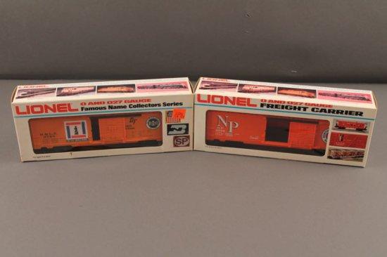 6-9769 LIONEL BESSIMER & LAKE ERIE BOX CAR, 1976-77, 6-9770 LIONEL NORTHERN