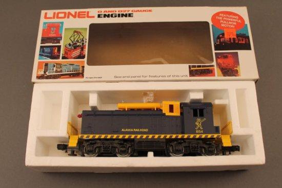 6-8154 LIONEL ALASKA SW-1 SWITCHER, 1981-82, NEW IN BOX