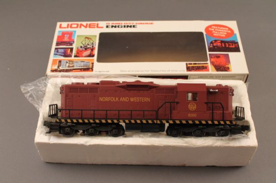 6-8266 LIONEL NORFOLK & WESTERN SD-24 DIESEL, 1982, NEW IN WRONG BOX