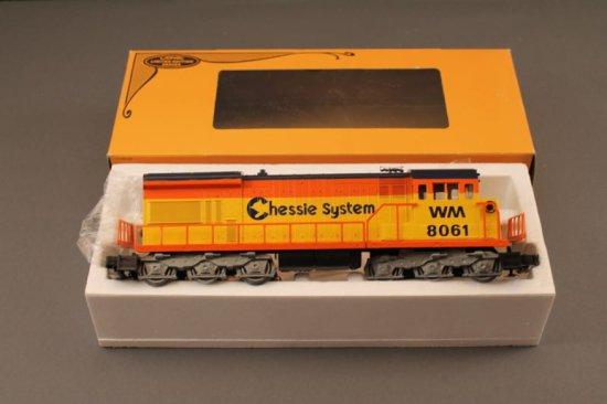 6-8061 LIONEL CHESSIE SYSTEM U36C DIESEL, 1980, NEW IN BOX