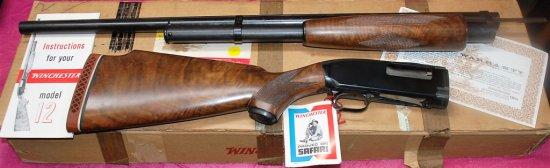 1964 Winchester Model 12 ÐTrap Pump Action 12 GA. Shotgun 2 3/4Ó Ventilated Rib