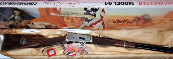 Winchester Model 94 Lever Action .32-40 18 1/2Ó Barrel John Wayne Commemorative Carbine