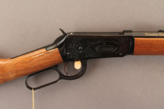 WINCHESTER MODEL 94 LEVER ACTION .30-30 RIFLE, CANADIAN CENTENNIAL 67,