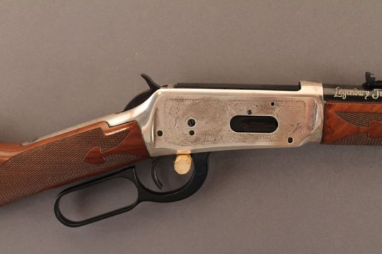 WINCHESTER MODEL 94 LEVER ACTION RIFLE IN .38-55CAL,
