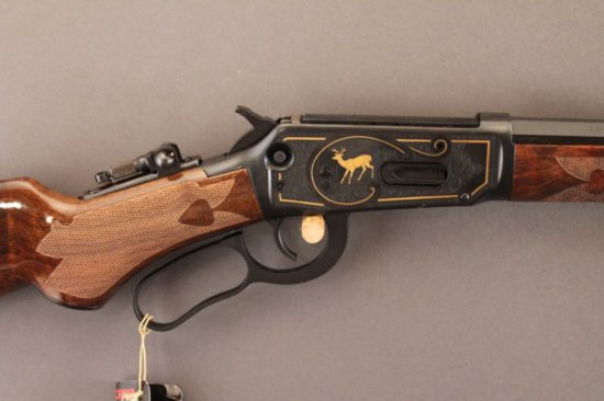 WINCHESTER MODEL 94 LEVER ACTION RIFLE IN .30WCF, LIMITED EDITION CENTENNIAL,
