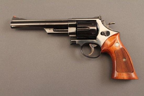handgun SMITH & WESSON MODEL 29-2 REVOLVER, .44CAL,