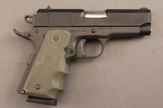 handgun ROCK ISLAND ARMORY MODEL 1911 A-1-CS, 45CAL SEMI-AUTO PISTOL,