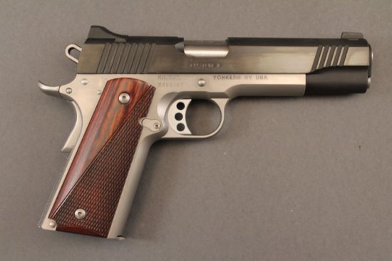 handgun KIMBER MODEL 1911 CUSTOM II, SEMI-AUTO .45CAL PISTOL,
