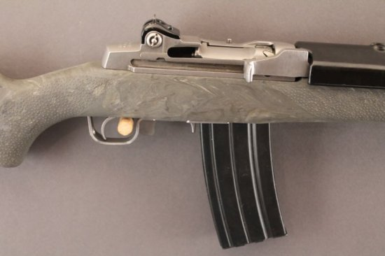 RUGER MINI-14 SEMI-AUTO .223CAL RIFLE,