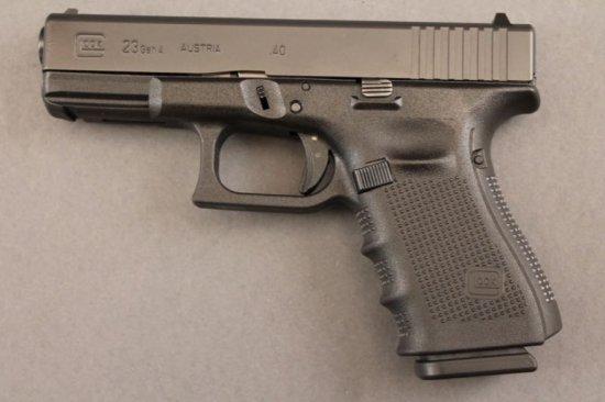 handgun GLOCK MODEL 23 GEN 4 SEMI-AUTO .40CAL PISTOL,