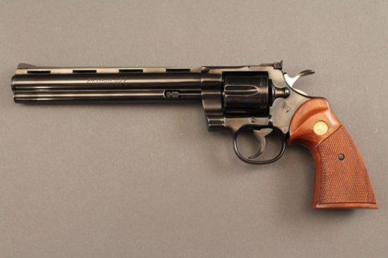 handgun COLT PYTHON 357MAG REVOLVER, S#LA6686