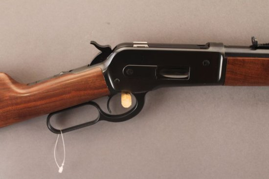 WINCHESTER MODEL 1886 EXTRA LIGHT WEIGHT, 45-70CAL LEVER ACTION CARBINE,
