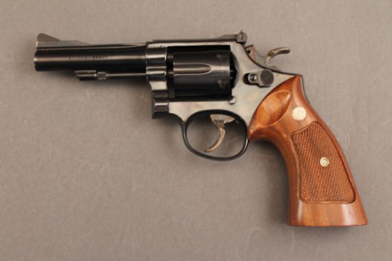 handgun SMITH & WESSON MODEL 15-3 K-38 COMBAT MASTERPIECE, 38CAL REVOLVER, S#K978313,