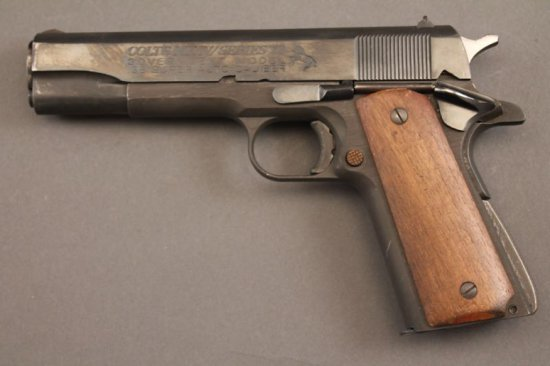 handgun RMT 1911 A-1, 38 SUPER CAL, SEMI-AUTO PISTOL, S#R04535,