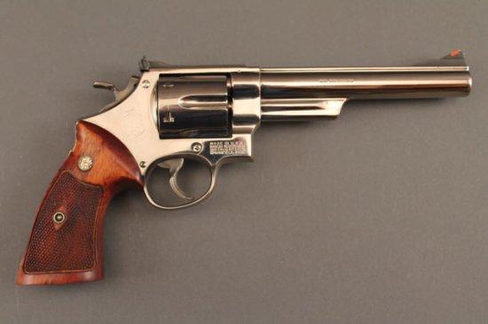 handgun SMITH & WESSON HAND EJECTOR PRE-MODEL 29 .44CAL REVOLVER,
