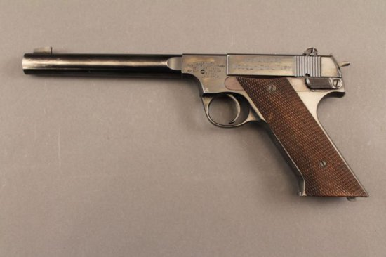 handgun HI-STANDARD H-D MILITARY SEMI-AUTO .22CAL PISTOL,
