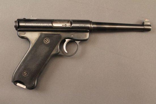 handgun RUGER MKI SEMI-AUTO .22CAL PISTOL,