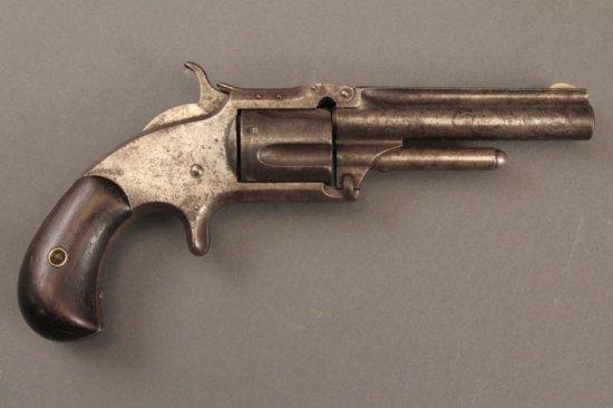 antique handgun SMITH & WESSON MODEL 1 1/2 .32CAL REVOLVER,