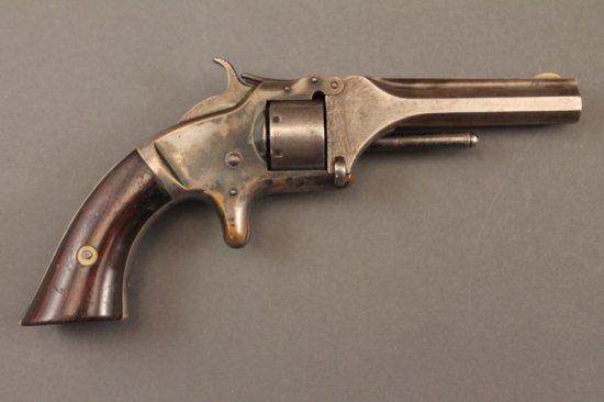 antique handgun SMITH & WESSON MODEL 1 .22CAL REVOVLER,