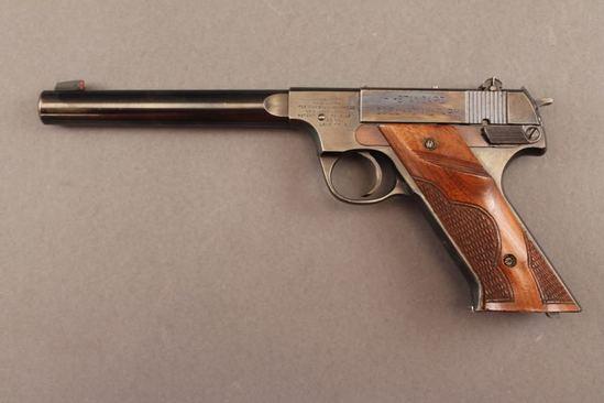 handgun HI-STANDARD H-D MILITARY, .22CAL SEMI-AUTO PISTOL