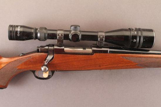 RUGER MODEL M77, 6MM REM BOLT ACTION RIFLE