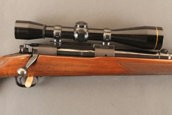 WINCHESTER MODEL 70, .338 WIN MAG BOLT ACTION RIFLE