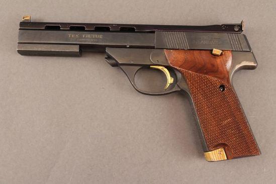 handgun HIGH STANDARD VICTOR, .22CAL SEMI-AUTO PISTOL
