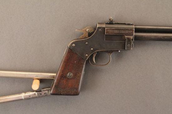 MARBLES GAMEGETTER MODEL 1921, .22LR/410 BREAK ACTION RIFLE/SHOTGUN