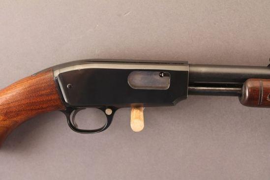 WINCHESTER MODEL 61, 22WIN MAG PUMP ACTION SHOTGUN