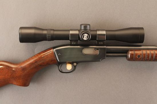 WINCHESTER MODEL 61, 22 WIN MAG CAL. PUMP ACTION RIFLE