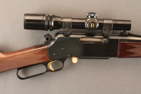 BROWNING MODEL BLR 81, .358 WIN LEVER ACTION RIFLE