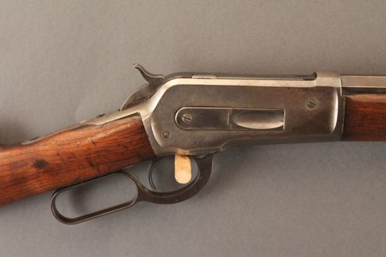 antique WINCHESTER MODEL 1886, 45/90CAL LEVER ACTION RIFLE
