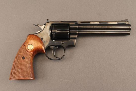 handgun COLT PYTHON .357 MAG CAL REVOLVER