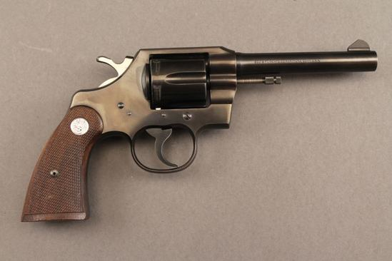handgun COLT OFFICIAL POLICE, 38 SPL REVOLVER