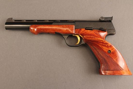 handgun BROWNING MEDALIST .22LR SEMI-AUTO PISTOL