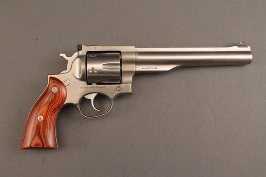 handgun RUGER REDHAWK, .44CAL REVOLVER