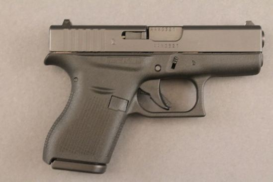 handgun GLOCK MODEL G42, .380CAL SEMI-AUTO PISTOL