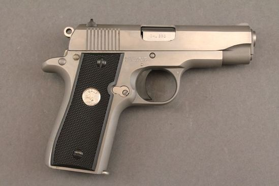 handgun COLT MODEL GOV'T MODEL 380CAL SEMI-AUTO PISTOL