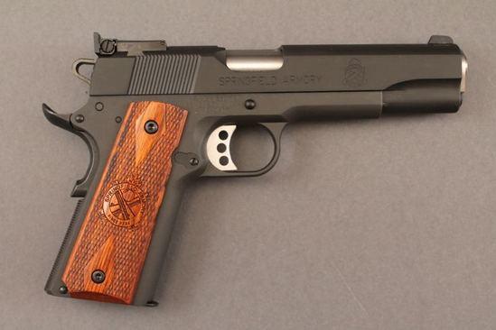 handgun SPRINGFIELD ARMORY MODEL 1911-A1 .45 ACP SEMI-AUTO PISTOL