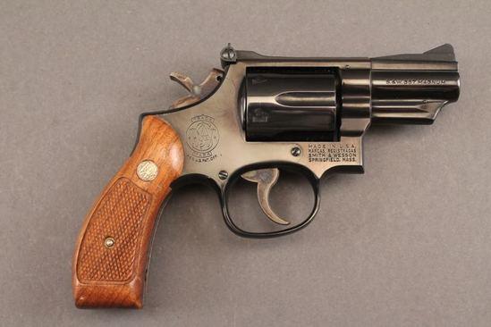 handgun SMITH & WESSON 19-4 MODEL, 357 MAG, REVOLVER