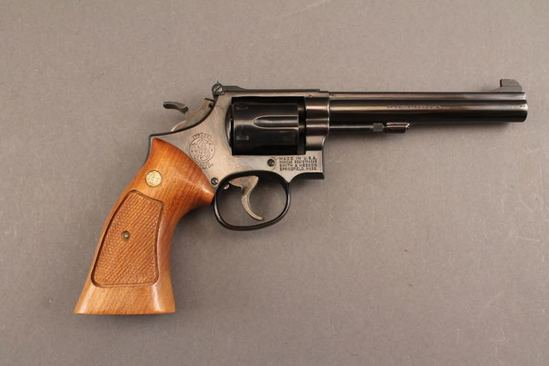 handgun SMITH & WESSON 14-3 MODEL, 38 SPL, REVOLVER