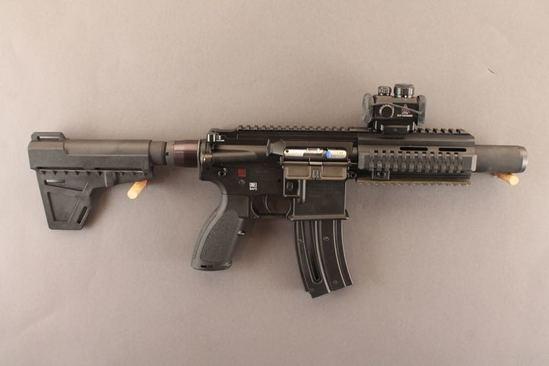 handgun H&K MODEL HK 416, .22CAL SEMI-AUTO PISTOL