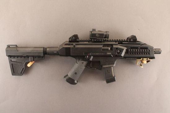 handgun CZ SCORPION EVO3S1, 9MM SEMI-AUTO PISTOL