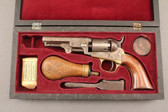 antique COLT 1849 POCKET MODEL, 31CAL, REVOLVER