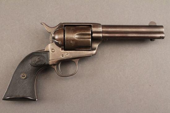 antique COLT SAA FRONTIER SIX SHOOTER, 44/40CAL, REVOLVER
