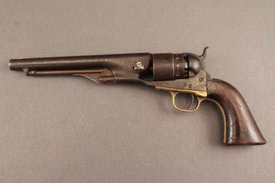 antique handgun COLT 1860 ARMY MODEL, 44CAL, REVOLVER