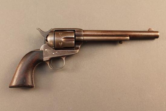 antique COLT SAA 45CAL SA REVOLVER, S#47246