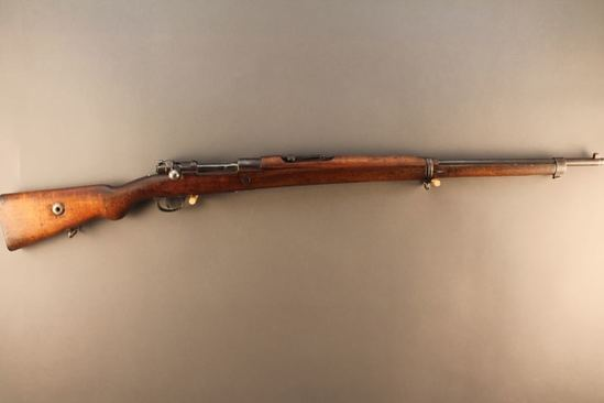 TURKISH MAUSER MODEL 98, 8X57CAL BOLT ACTION RIFLE, S#23845